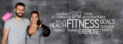 Plakat Fitness Workout