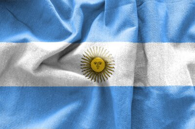 Plakat Flaga Argentynie
