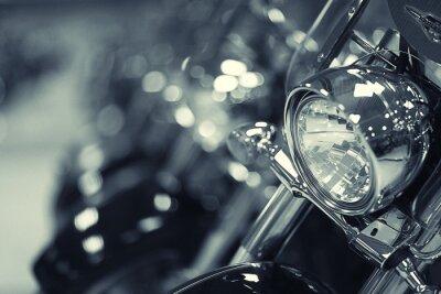 Plakat Fragment motocykla
