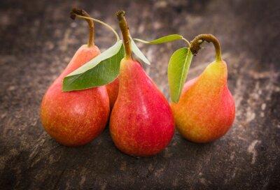 Plakat Fresh organic pears