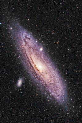 Plakat Galaktyka Andromedy