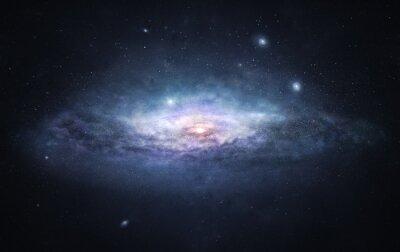 Plakat Galaxy - miasto gwiazd