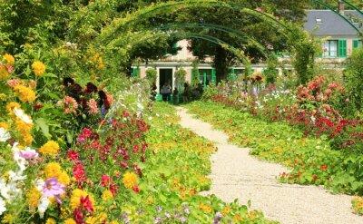 Plakat Garten in Giverny