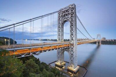 Plakat George Washington Bridge, New York.