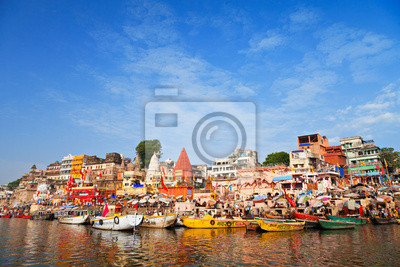 Plakat Ghats na Ganga