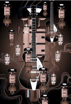 Plakat gitara projekt