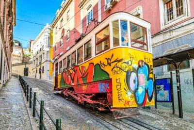 Plakat Gloria Linowych, Lizbona, Portugalia