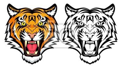 Plakat Gniew Tiger