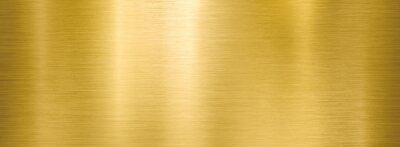 Plakat golden metal brushed wide textured plate