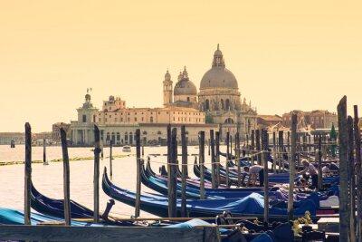 Plakat Gondole, Wenecja