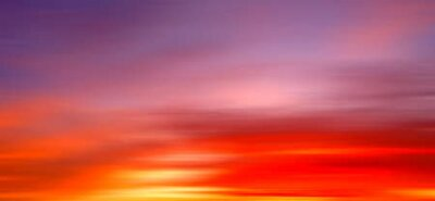 Plakat Gorgeous Panorama twilight sky and cloud at morning background motion blur image