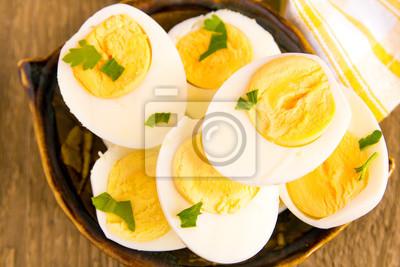 Plakat Gotowane jajka