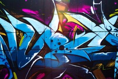 Plakat Graffiti, street art
