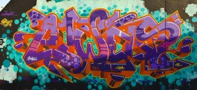Plakat Graffiti Street Art Berlin