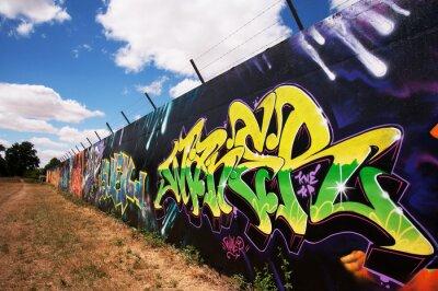 Plakat Graffitis