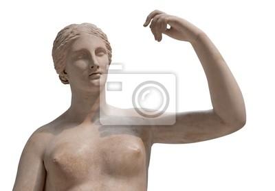 Plakat Grecki posąg nagiej Wenus