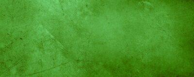 Plakat Green concrete wall