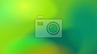 Plakat Green gradient background