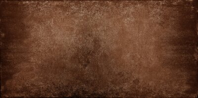 Plakat Grunge brown stone texture background