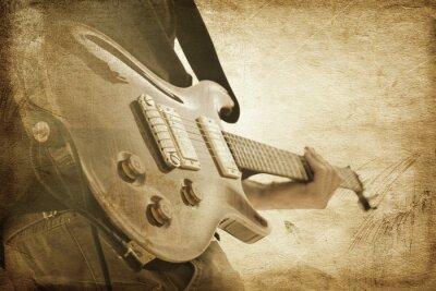 Plakat grunge, rock