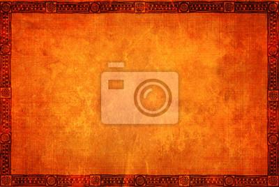 Plakat Grunge tła z amerykańskich wzorców tradycyjnych indyjskich