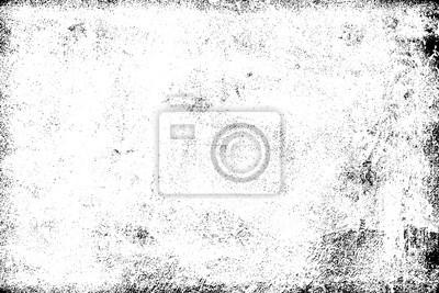 Plakat Grunge tło czarny i biały. Tekstura wiórów, pęknięć, zadrapań, zadrapań, kurzu, brudu. Ciemna powierzchnia monochromatyczna. Stary wzór wektor wzór
