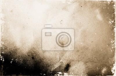 Plakat grunge z teksturą