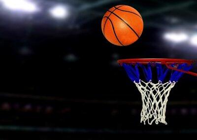 Plakat Gry w koszykówkę w ramach Spotlights