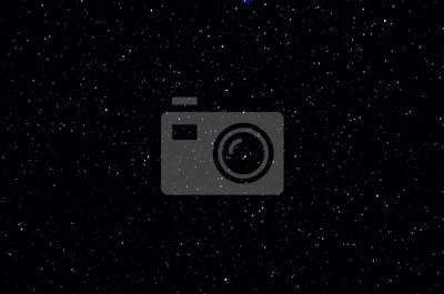 Plakat Gwiazdy i galaktyka przestrzeni kosmicznej niebo noc tle wszechświata