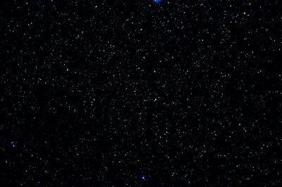 Plakat Gwiazdy i galaktyki w przestrzeni kosmicznej niebo noc wszechświat tle