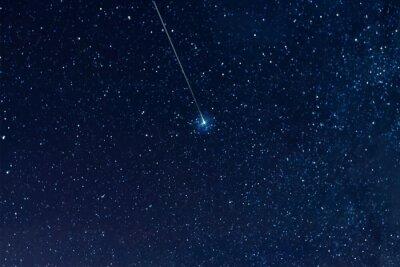 Plakat Gwiaździste niebo, Elementy tej ilustracji dostarczone przez NASA