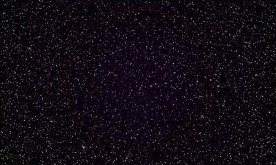 Plakat Gwiaździste niebo gwiazdy migotać tło wektor tle