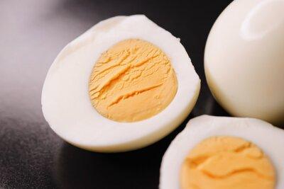 Plakat Hard-boiled eggs, dairy food