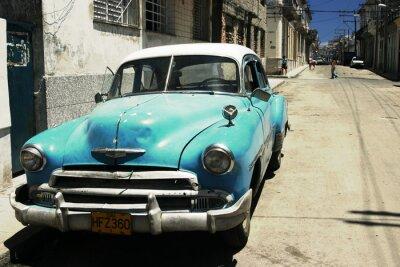 Plakat Havana street - proces krzyż