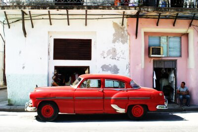 Plakat Hawana car