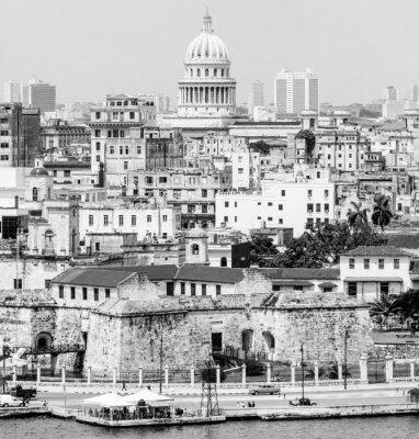 Plakat Hawany w tym słynnych budowli