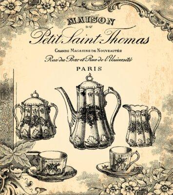 Plakat Herbaciarnia