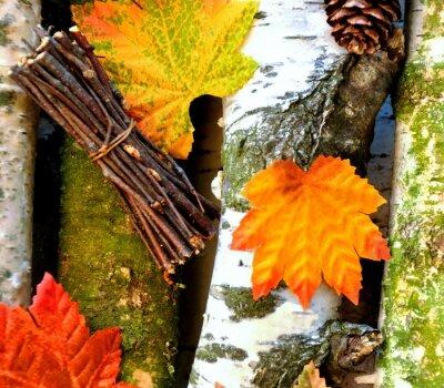 Plakat Herbsthintergrund
