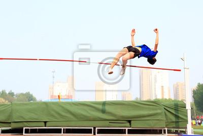 Plakat high jump