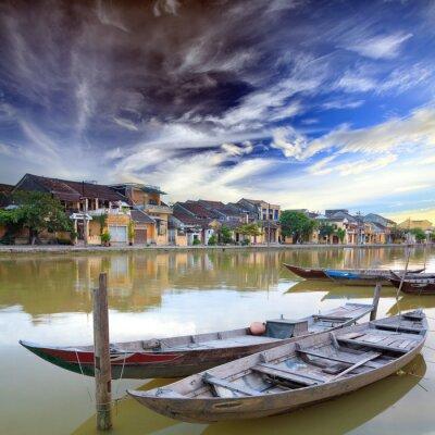 Plakat Hoi An. Wietnam