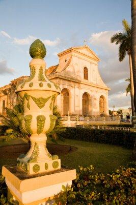 Plakat Holy Trinity Church, Trinidad, Kuba