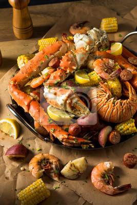 Plakat Homemade Cajun Seafood Boil
