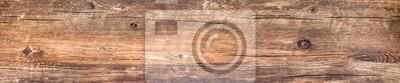Plakat Horyzontalny sztandar z rocznik drewna teksturą