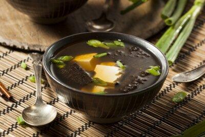 Plakat Hot Homemade Miso Soup