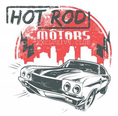 Plakat Hot rod silniki