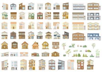 Plakat House building vector