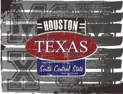 Plakat Houston
