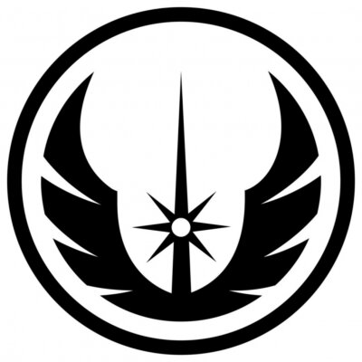 Plakat  Icon of a sign used in star wars depicting rebel alliance