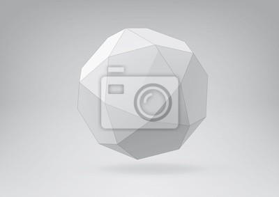 Icosidodecahedron do projektowania graficznego
