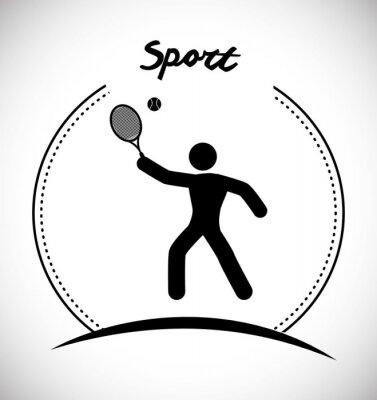 Plakat Ikona Gry sportowe